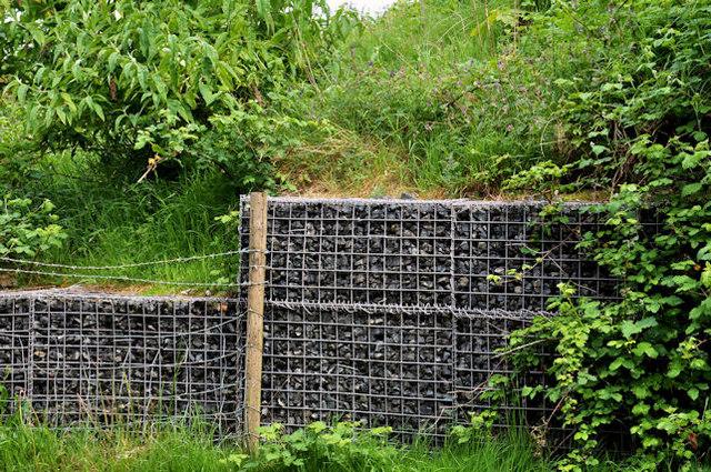ogrodzenie gabionowe