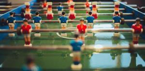 piłkarzyki stołowe mini
