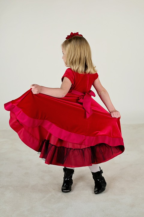 393c488b Czerwone sukienki dla dziewczynek - Czarny Młyn