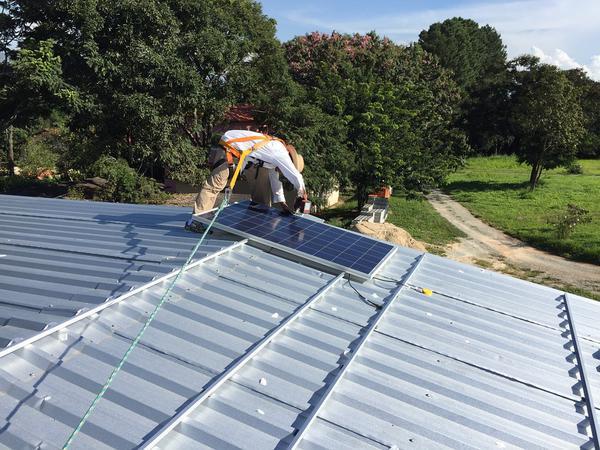 Nowoczesne panele solarne